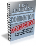 List Building Domination Blueprint (PLR)