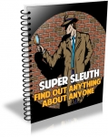 Super Sleuth - Research Anything About Anyone (PLR)