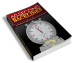 60 Second Backlink (PLR)